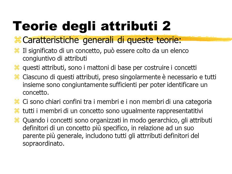 Teorie degli attributi 2