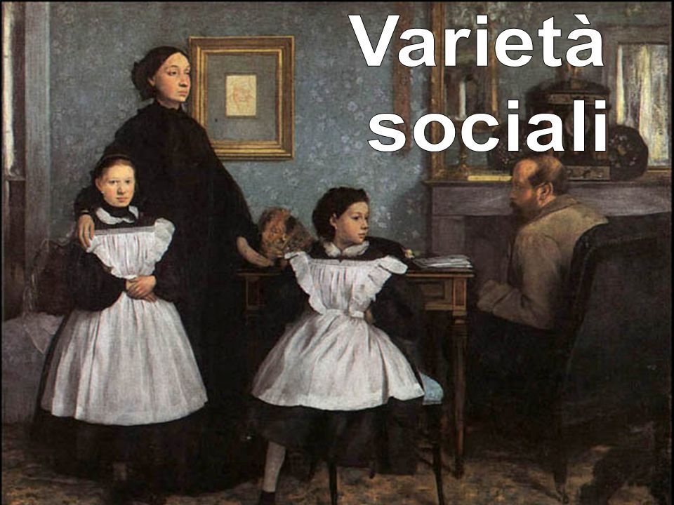 Varietà sociali