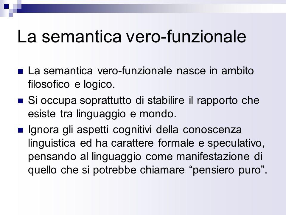 La semantica vero-funzionale