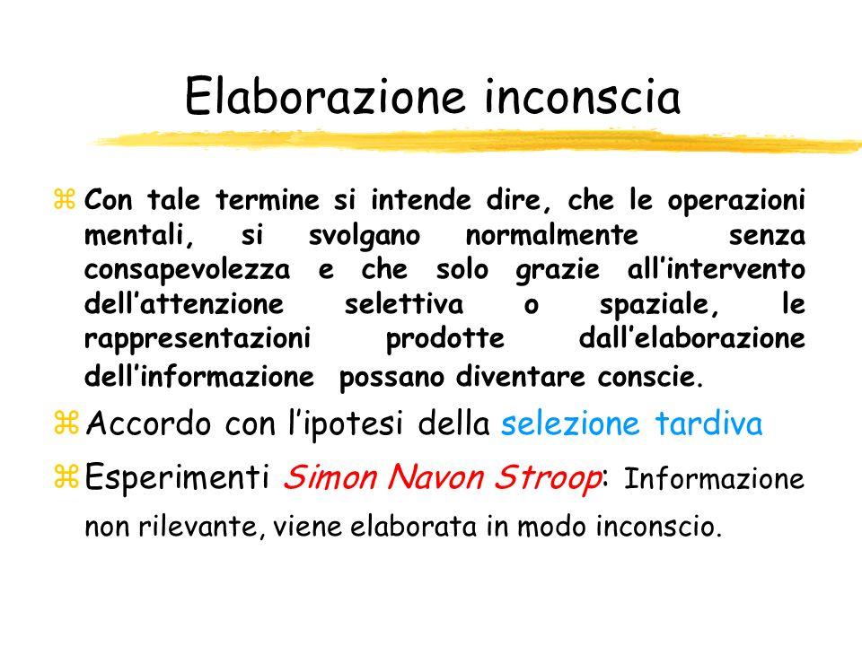 Elaborazione inconscia