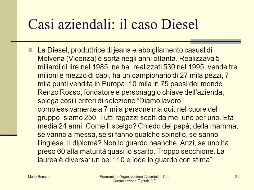Casi aziendali: il caso Diesel