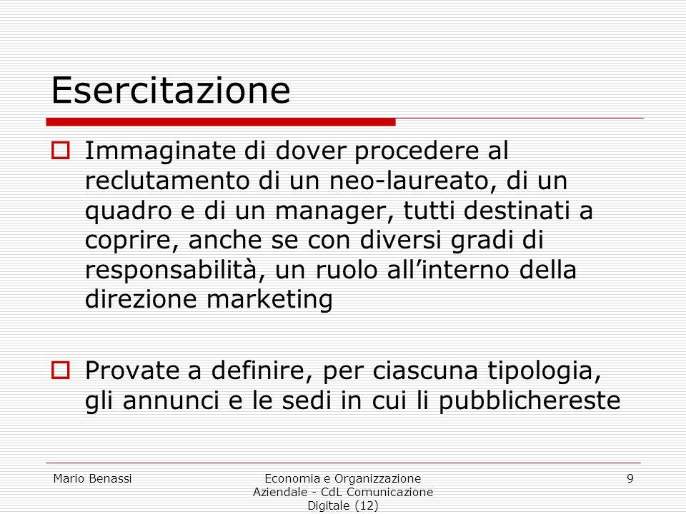Economia e Organizzazione Aziendale - CdL Comunicazione Digitale (12)