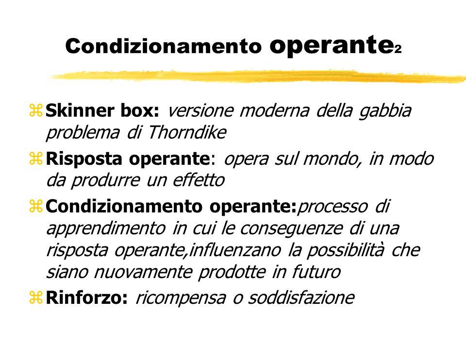 Condizionamento operante2