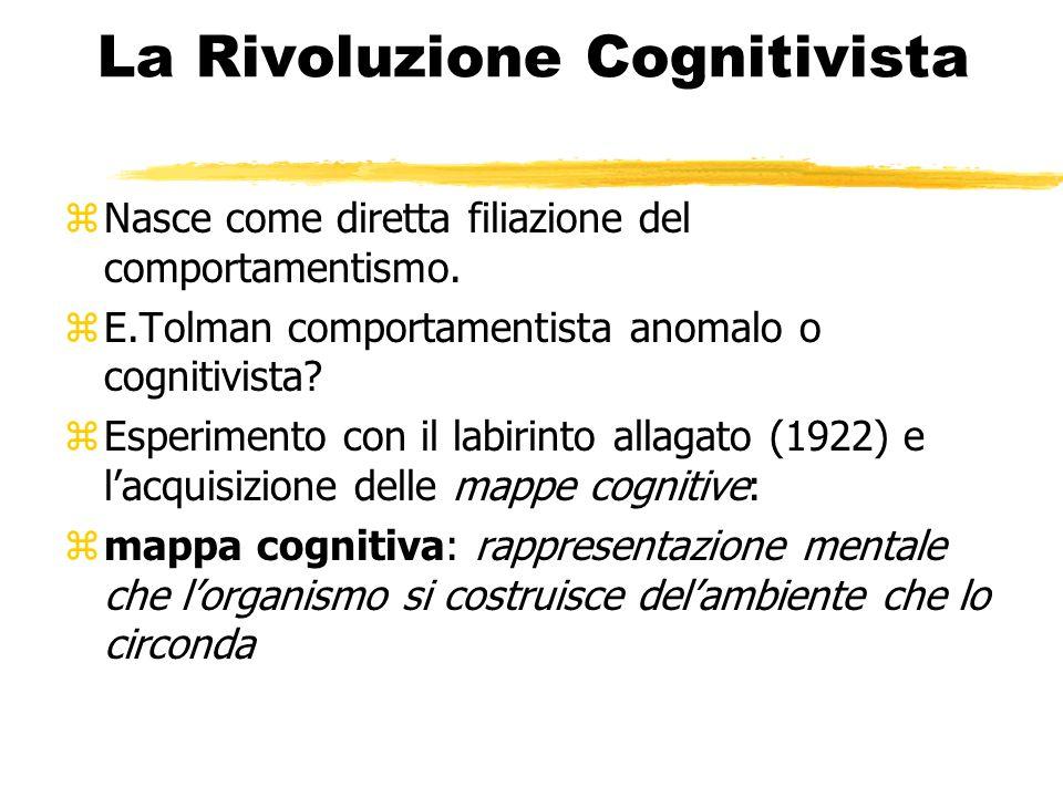 La Rivoluzione Cognitivista