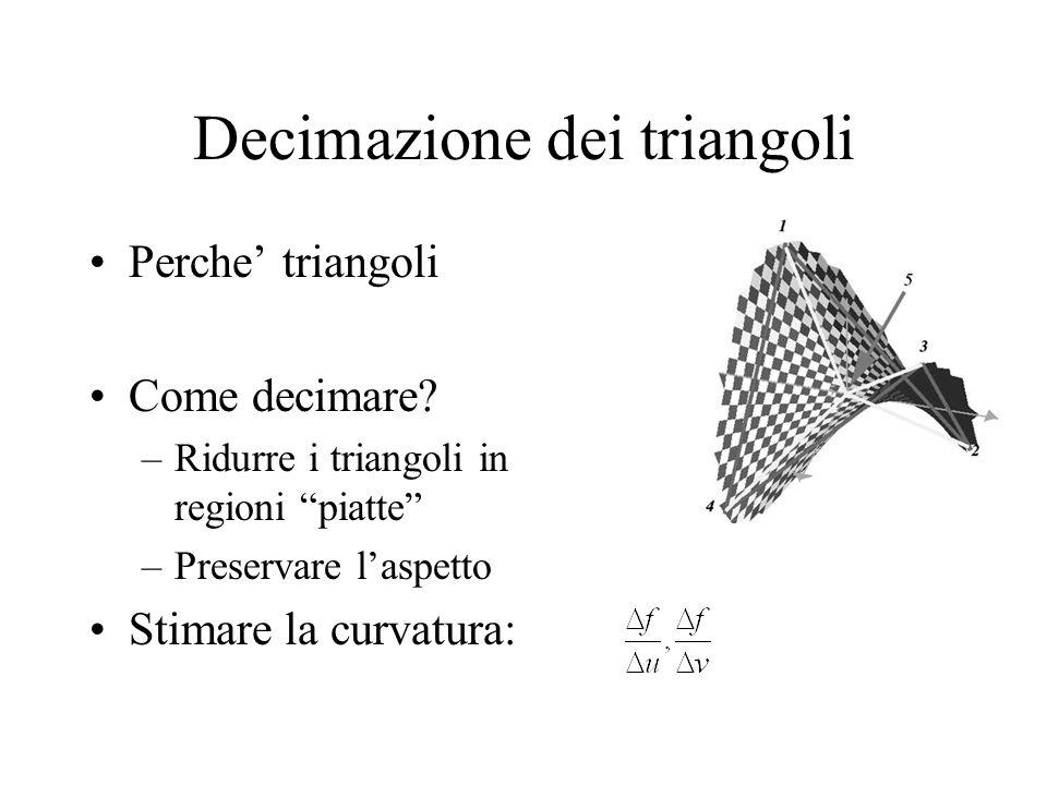 Decimazione dei triangoli