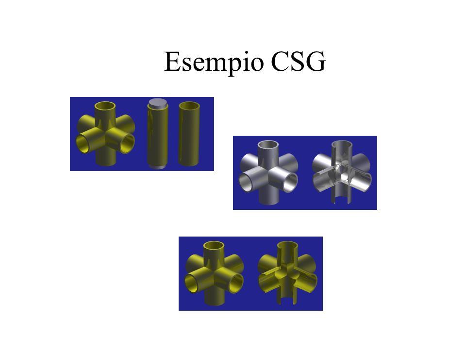 Esempio CSG