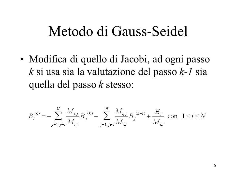 Metodo di Gauss-Seidel
