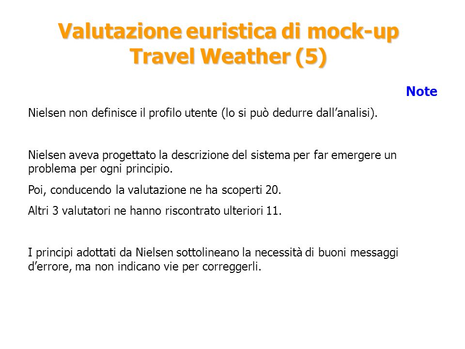 Valutazione euristica di mock-up Travel Weather (5)