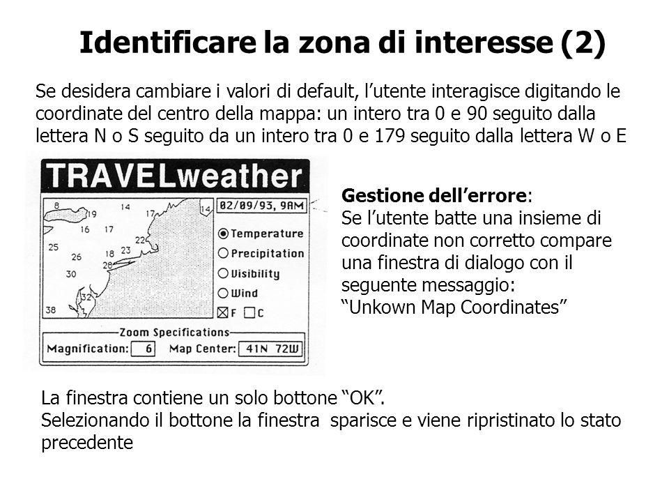 Identificare la zona di interesse (2)