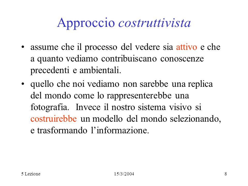 Approccio costruttivista