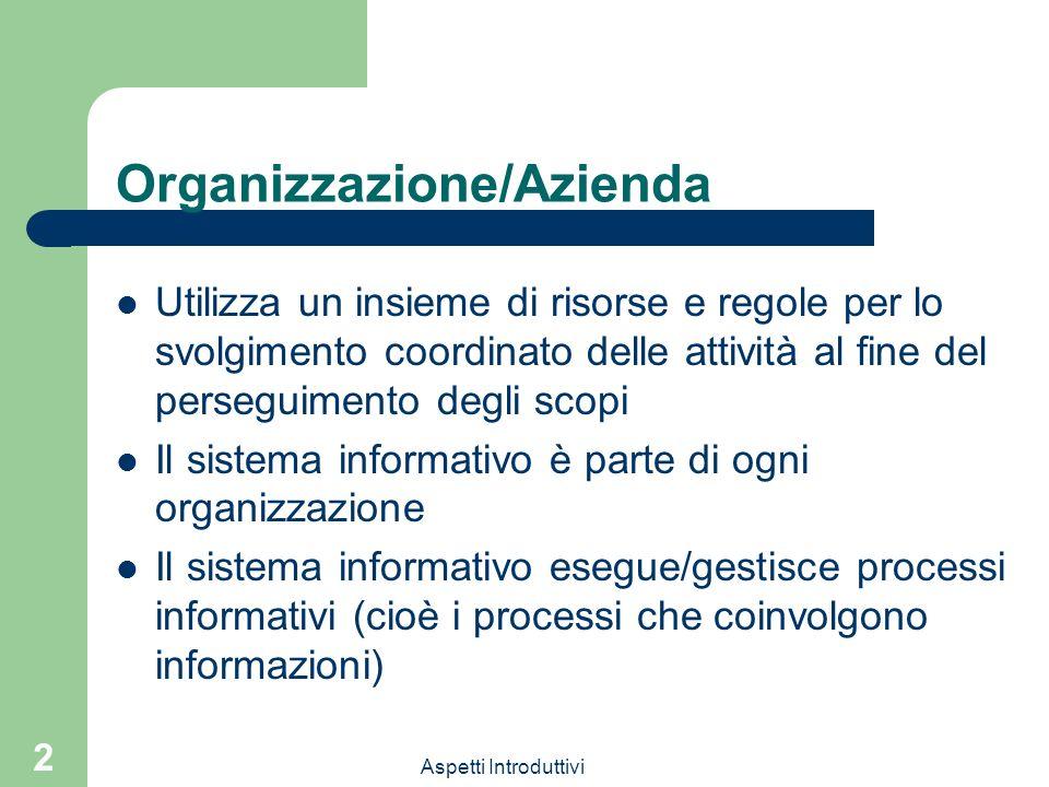 Organizzazione/Azienda