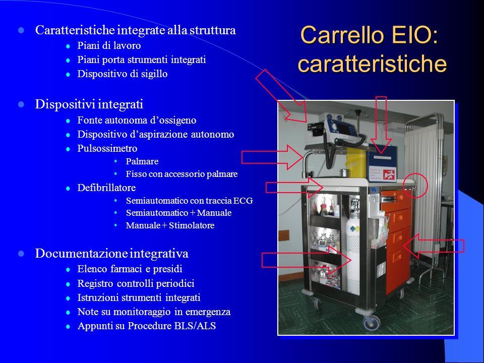 Carrello EIO: caratteristiche