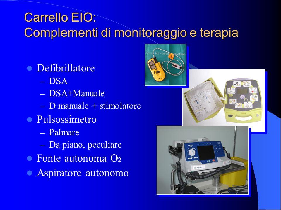 Carrello EIO: Complementi di monitoraggio e terapia
