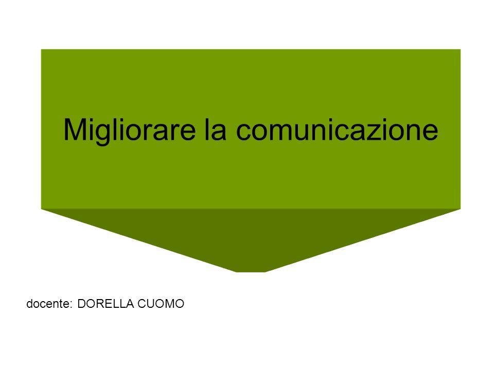 Migliorare la comunicazione