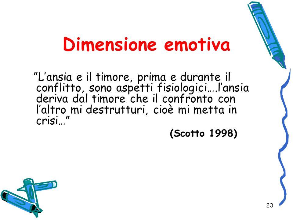 Dimensione emotiva