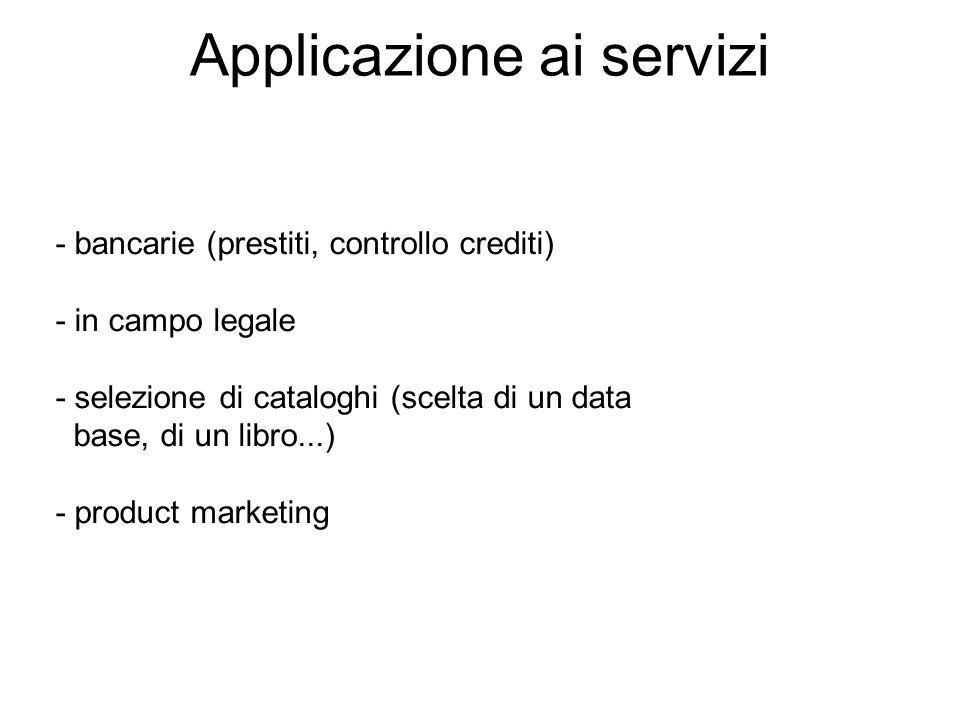Applicazione ai servizi