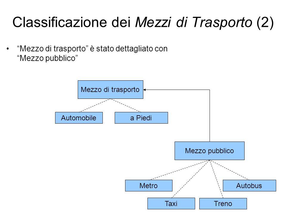 Classificazione dei Mezzi di Trasporto (2)