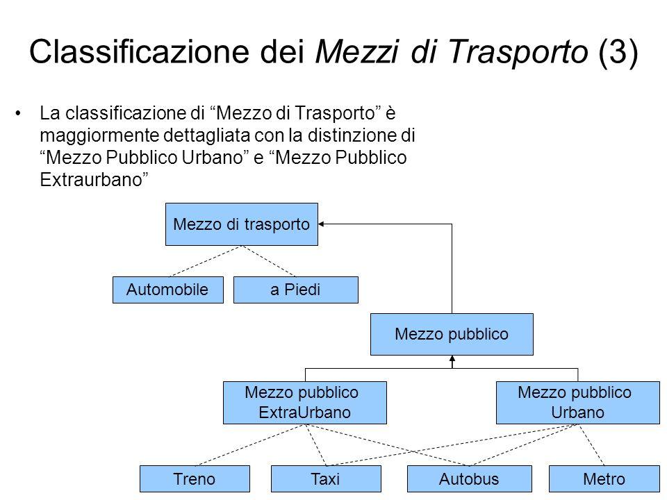 Classificazione dei Mezzi di Trasporto (3)