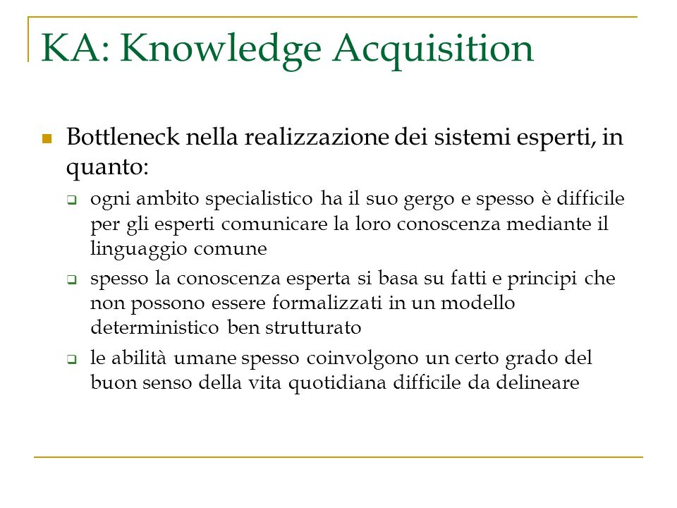 KA: Knowledge Acquisition