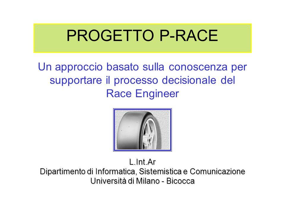 PROGETTO P-RACE Un approccio basato sulla conoscenza per supportare il processo decisionale del. Race Engineer.
