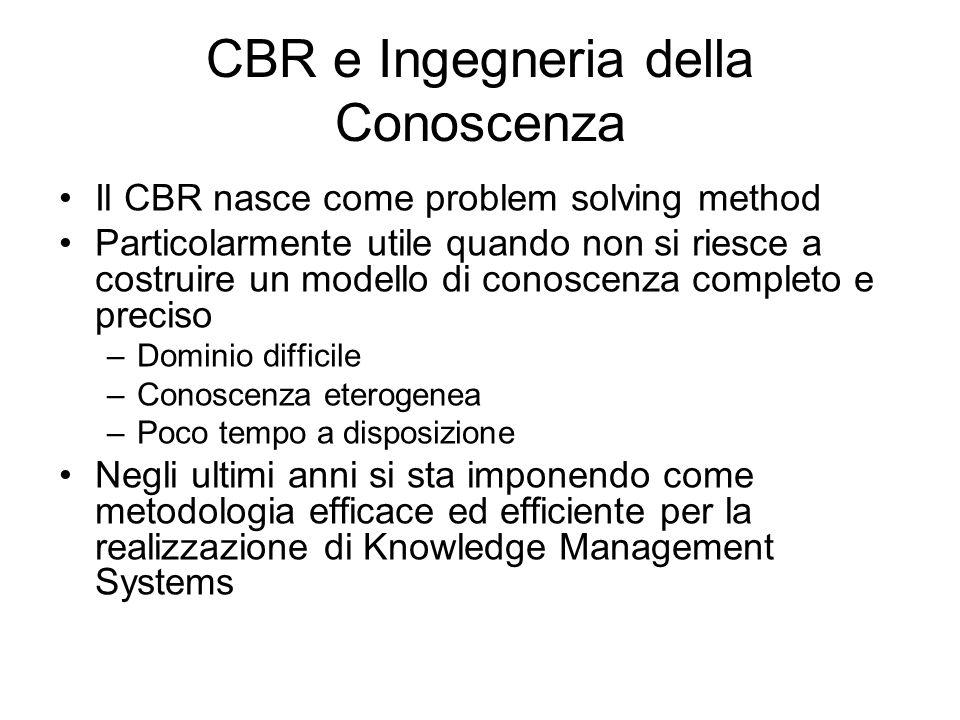 CBR e Ingegneria della Conoscenza