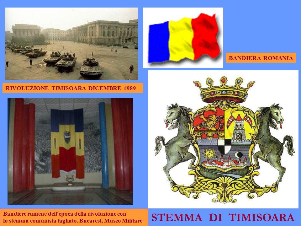 STEMMA DI TIMISOARA BANDIERA ROMANIA