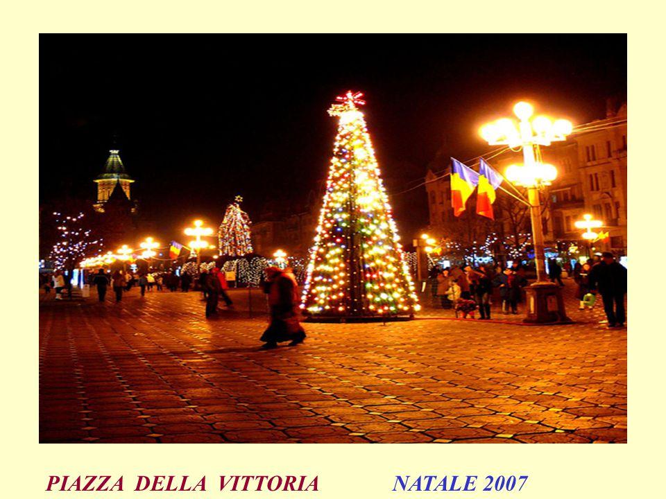 PIAZZA DELLA VITTORIA NATALE 2007