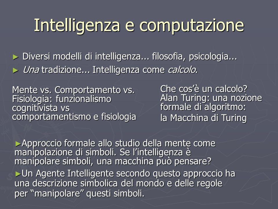 Intelligenza e computazione