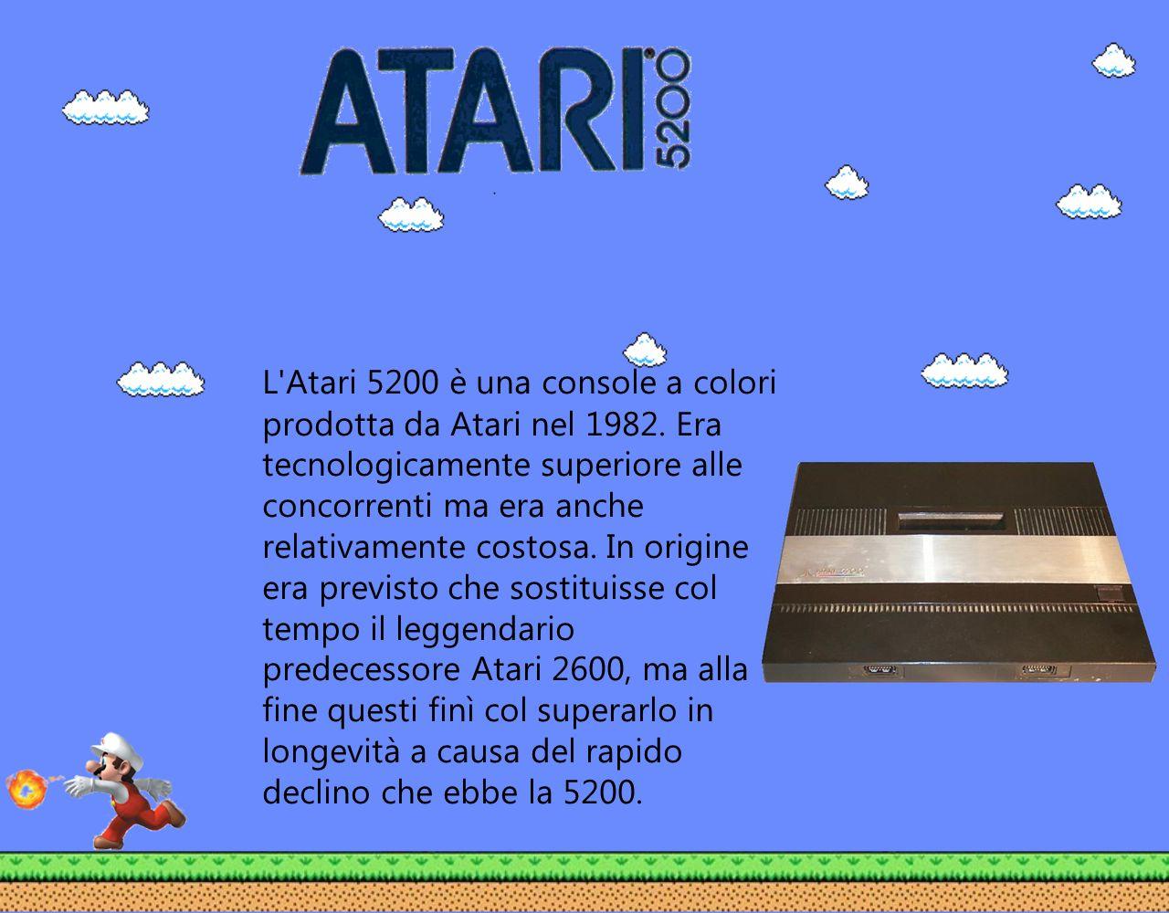 L Atari 5200 è una console a colori prodotta da Atari nel 1982
