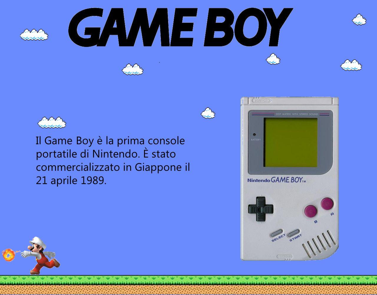 Il Game Boy è la prima console portatile di Nintendo