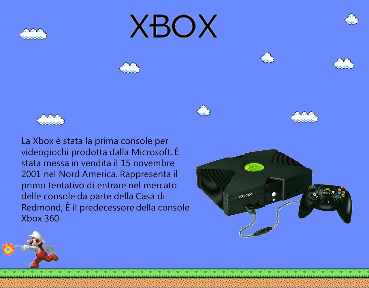 La Xbox è stata la prima console per videogiochi prodotta dalla Microsoft.