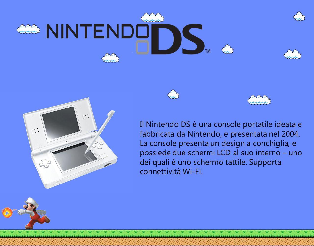 Il Nintendo DS è una console portatile ideata e fabbricata da Nintendo, e presentata nel 2004.