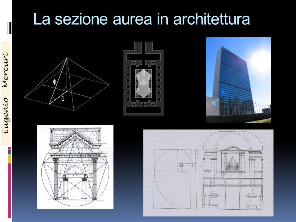 La sezione aurea in architettura