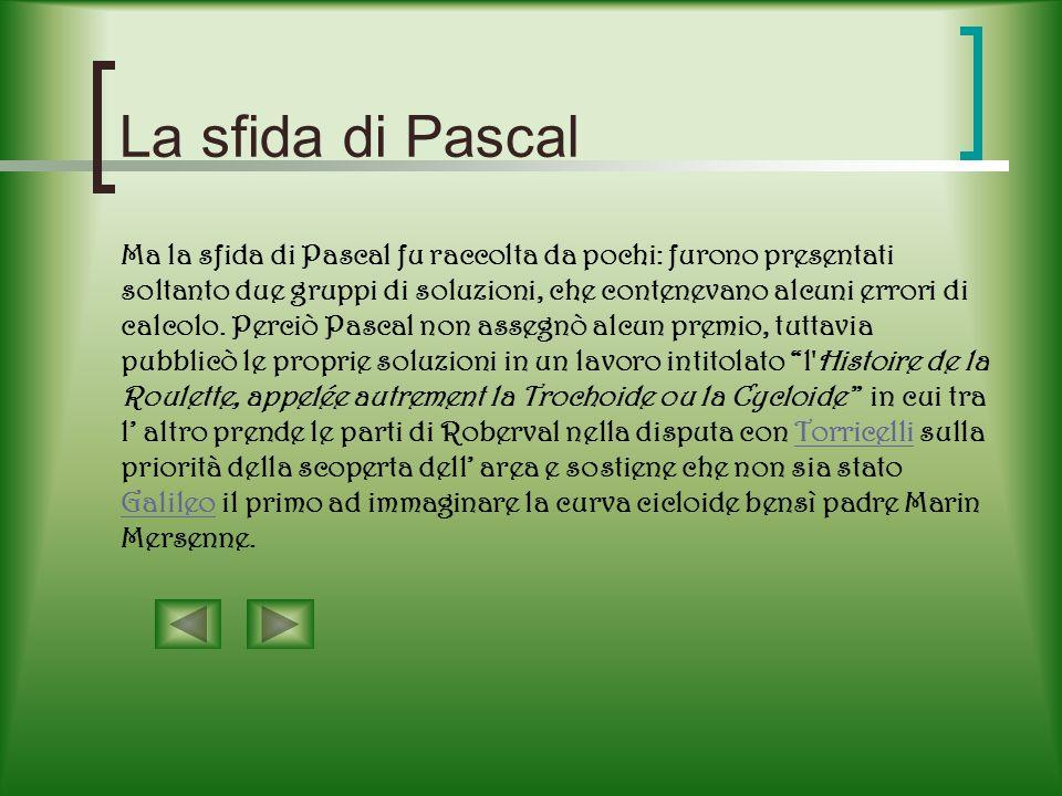 La sfida di Pascal