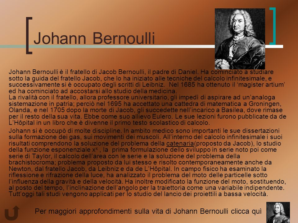 johann bernoulli essay Jakob bernoulli and johann bernoulli 518 words, approx 2 pages johann and jakob bernoulli, the children of a prominent basel, switzerland, couple, were the first in a family line of gifted mathematicians that would endure for three generations.