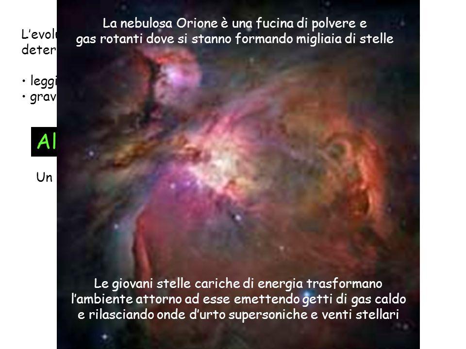 All'inizio c'era La nebulosa Orione è una fucina di polvere e