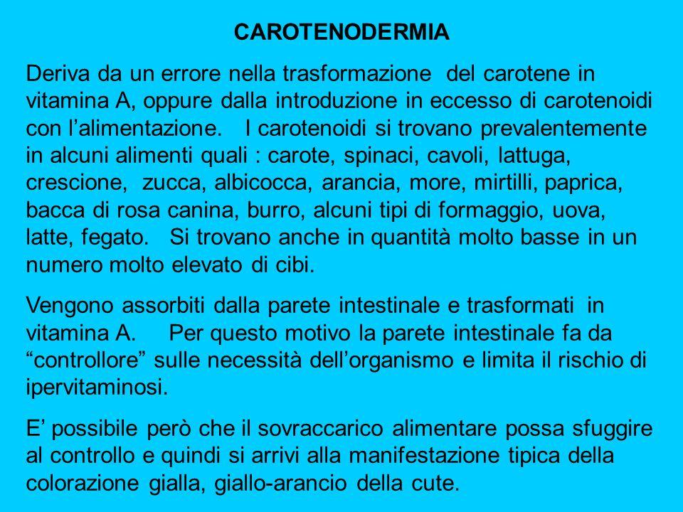 CAROTENODERMIA