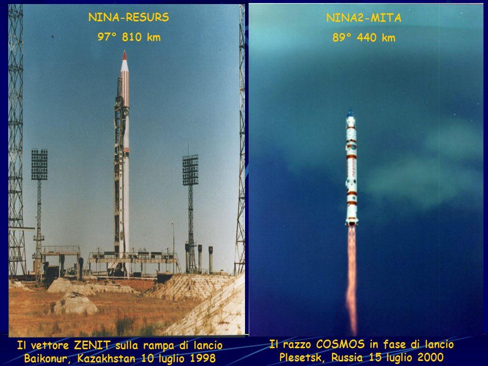 Il vettore ZENIT sulla rampa di lancio
