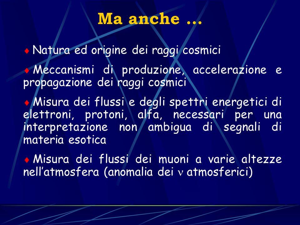 Ma anche ... Natura ed origine dei raggi cosmici