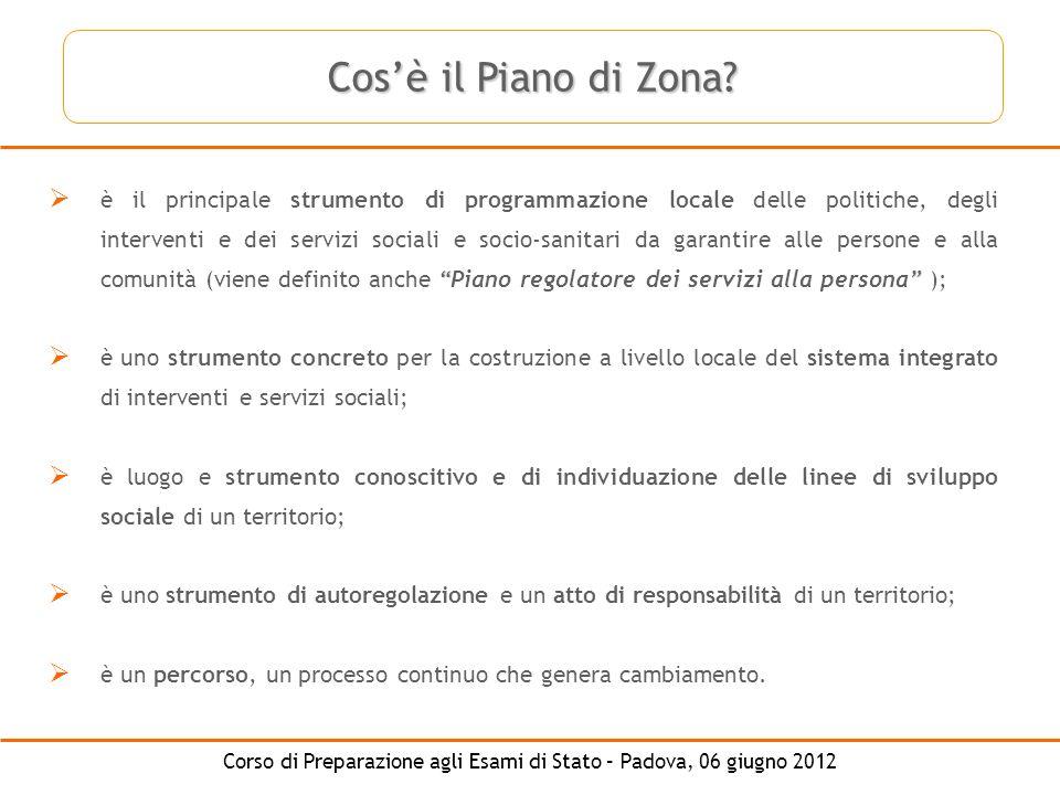 Cos'è il Piano di Zona