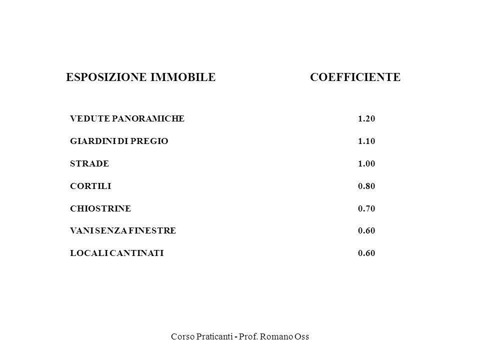 Corso Praticanti - Prof. Romano Oss