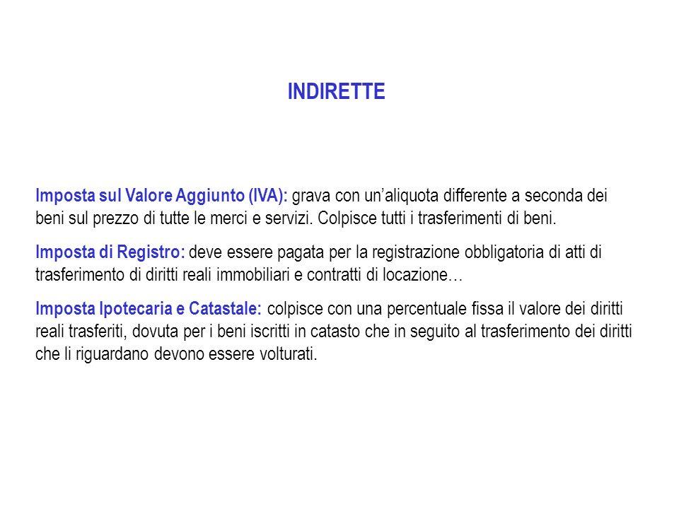 INDIRETTE