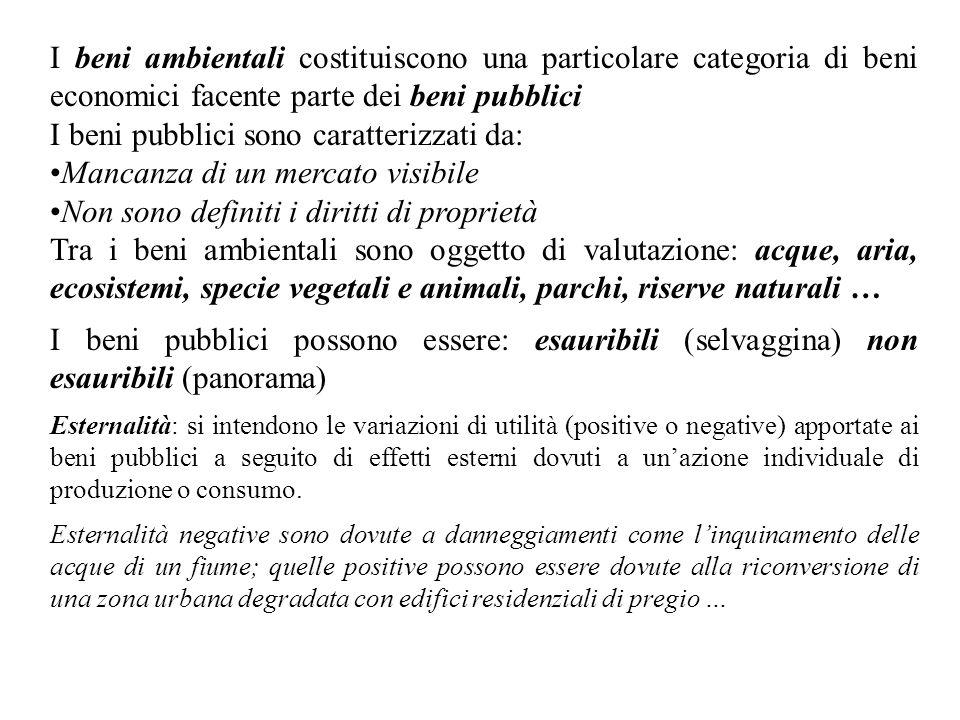 I beni pubblici sono caratterizzati da: