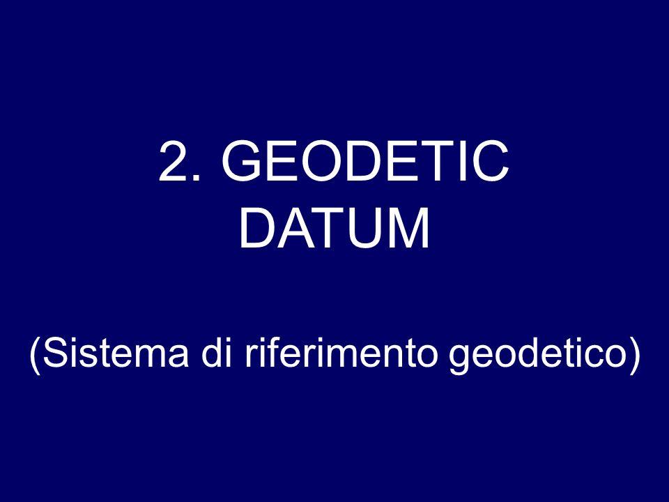 (Sistema di riferimento geodetico)