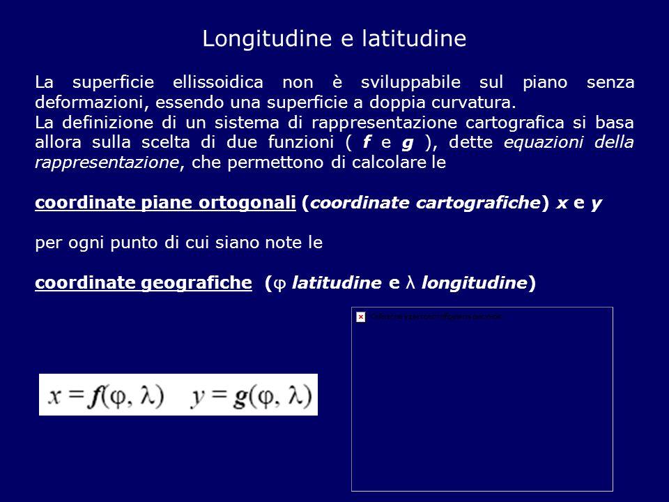 Longitudine e latitudine