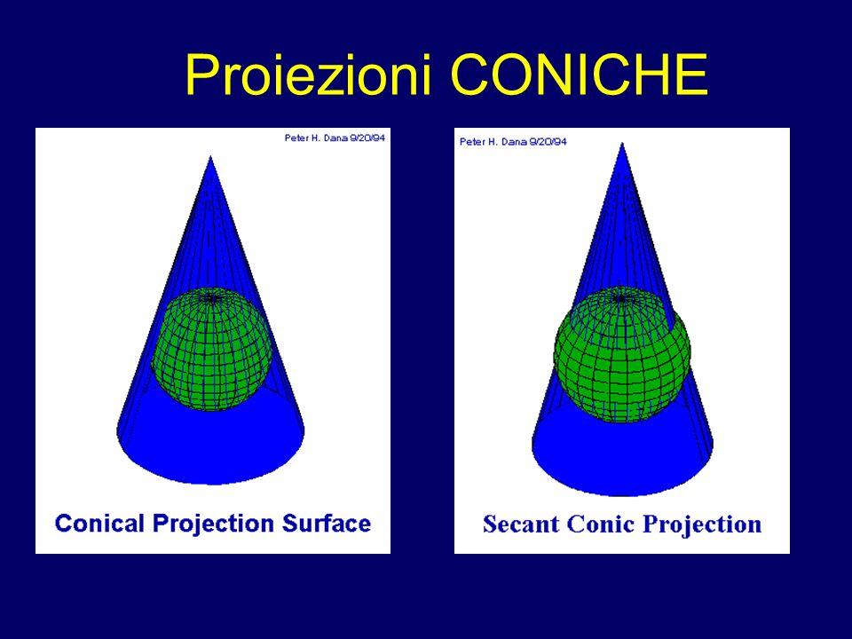 Proiezioni CONICHE