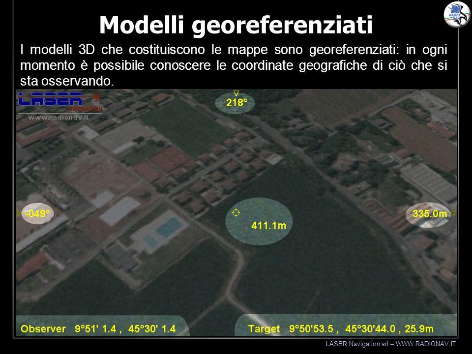 Modelli georeferenziati