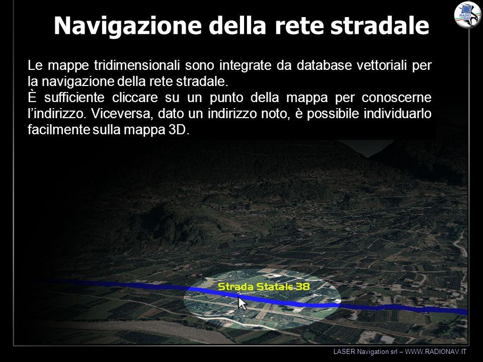 Navigazione della rete stradale