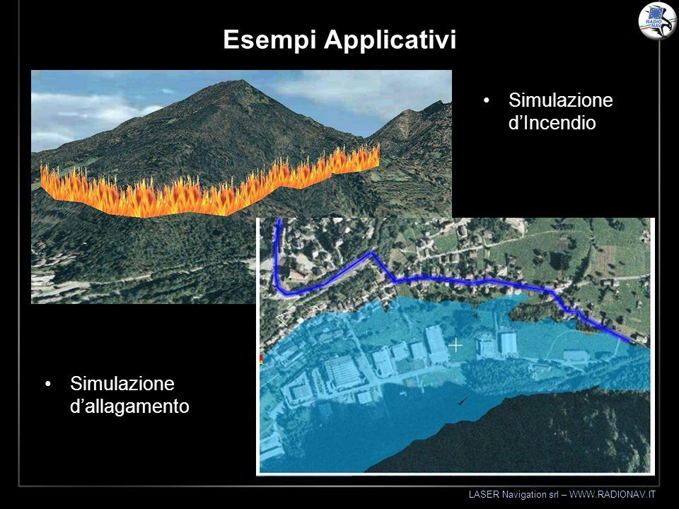 Esempi Applicativi Simulazione d'Incendio Simulazione d'allagamento