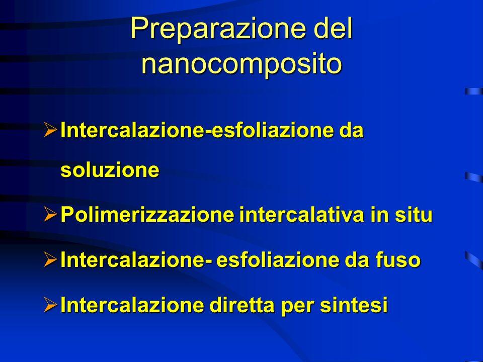 Preparazione del nanocomposito